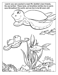 Personalized Underwater Exploration Coloring Book