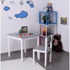 bureau chaise enfant finlandek bureau enfant classique chaise kissa gris et blanc l