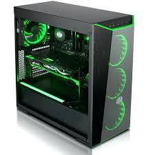 pc de bureau gamer pas cher ordinateur de bureau gamer pas cher pc gamer cybertek green flare
