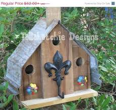 20 OFF Today Reclaimed Weathered Rustic Natural Wood Church Or Mission Style Birdhouse