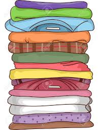 Free Stack Of Clothing Clipart
