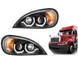 Black Columbia Projection Headlight W/LED Running Light - Elite ... Led Drl Daytime Running Light Fog Lamp Fits Ford Ranger T6 Px2 Mk2 Unique Bargains Truck Car White 6 Smd Driving 2009 2014 Board Lights F150ledscom Freeeasy Canyon Marker Mod Leds Chevy Colorado Gmc 7 Round 50w 30w H4 High Low Beam Led 10watt Xkglow 3 Mode Ultra Bright 14pcs Led Universal 2x45cm Auto Fxible Drl With Step Bar 1pcs Styling 12w Lights Dc 12v Archives Mr Kustom Accsories