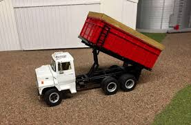 100 Toy Grain Trucks 1 64 Ford Louisville L9000 Truck Scratch Custom Farm