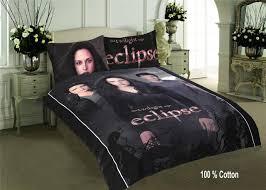 the twilight saga eclipse double quilt duvet cover set pure cotton
