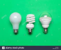 three generations of light bulbs regular incandescent energy