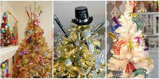 tree decorations ideas with ribbons new year tree decorating ideas new year tree tradition and history