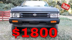 For Sale: 1992 Nissan Pathfinder XE 4X4 - $1800 - Runs Great! - YouTube
