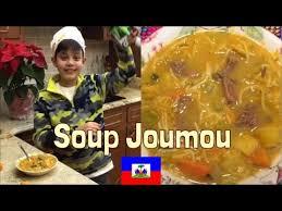 Traditional Haitian Pumpkin Soup Recipe by Haitian Pumpkin Soup Soup Joumou Youtube