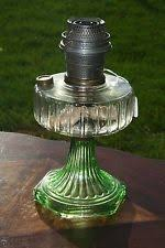 Aladdin Kerosene Lamp Model B by Aladdin Corinthian Kerosene Oil Lamp Clear Moonstone W Nu Type