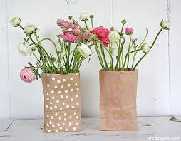 This Also Makes A Wonderful Kid Friendly Craft Let Your Little Artist Create Their Own Vase