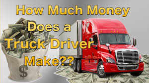 100 How Much A Truck Driver Make Money Does A YouTube