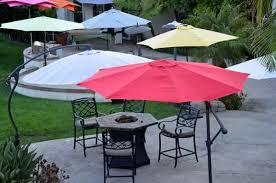 Patio Umbrella Offset 10 Hanging Umbrella by Offset Patio Umbrella Red 10 U0027 Roundquality Patio Umbrellas