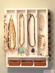 DIY Project My Make Shift Jewelry Display