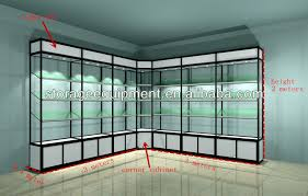 Modern Design Used Glass Display Cases From Factory