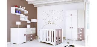 chambre chocolat et blanc décoration chambre bébé chocolat