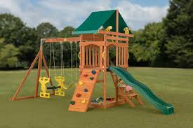 CreativeCedarDesigns Sky View Swing Set & Reviews | Wayfair Shop Backyard Discovery Prestige Residential Wood Playset With Tanglewood Wooden Swing Set Playsets Cedar View Home Decoration Outdoor All Ebay Sets Triumph Play Bailey With Tire Somerset Amazoncom Mount 3d Promo Youtube Shenandoah