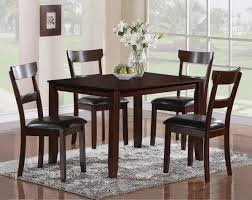 henderson 5 piece dining table and chair set belfort furniture