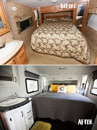 Bedroom Remodel Before And After The Rv Renovation Af With Renovations