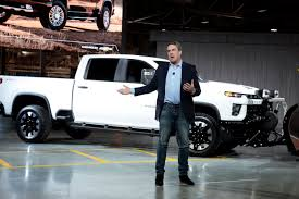 100 Gm Truck GM Unveils Chevy Silverado HD As Detroits Big 3 Battle For Big Profits