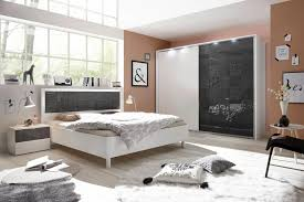 lc schlafzimmer set miro set 4 tlg set aus schrank bett und 2 nachttischen kaufen otto