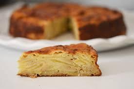 dessert aux pommes sans gluten gâteau invisible aux pommes sans gluten délices