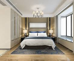 100 Modern Luxury Bedroom Modern Luxury Modern Bedroom Suite In Hotel With Wardrobe 3D Model