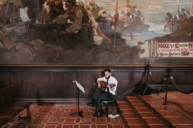 Santa Barbara County Courthouse Mural Room by Gage And Michael U0027s Santa Barbara Courthouse Wedding U2014 The