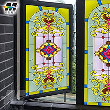 libby glas aufkleber geometrische muster bemalt glas