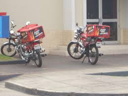 Pizza Hut Motorcycle Delivery