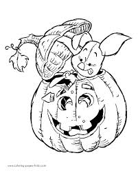 Haunted Cute Coloring Pages Kids