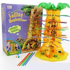 Childrens Educational Toys Dump Monkey Falling Monkeys Board Game Kids Birthday Gifts For Boys Girls