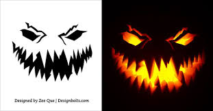 Scariest Pumpkin Carving Patterns by Graphics For Pumpkin Carving Graphics Www Graphicsbuzz Com