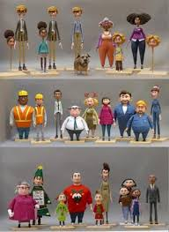 All Figures Featuring In The Short Film Have 3D Printed Facial Expressions A Total Of