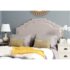 Wayfair White Queen Headboards by Foremost Tessa Taupe Full Queen Headboard Tht 61013 Fb Tau Fq