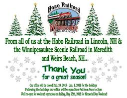 Christmas Tree Farm Near Lincoln Nh by Scenic Railroad Train Rides On The Hobo Railroad And Also The