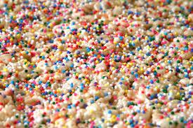 Rice Krispie Treats Halloween Shapes by Funfetti Rice Krispies Treats Rice Krispy Treats With Sprinkles