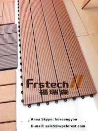 Waterproof Deck Floor Photo 7 Of 9 Interlock Decking Tile And Balcony Flooring Wood Plastic