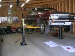 2 Post Car Lift Low Ceiling by 2 Post Or 4 Post Lift Chevelle Tech