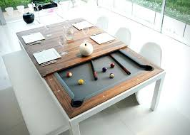 Fusion Pool Tables 1 This Classy Dining Table Hides A Underneath Room Combo For Sale Convertible