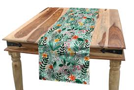 Amazon.com: Lunarable Spring Table Runner, Paradise Island ... Langston Ding Chair Amazoncom Ding Table Runner Or Dresser Scarf Hawaiian New Kauai Fniture Condo Packages From Island Collections Queen Kaahumanu Suite Luxury Hotel Royal Tropical Decorating Ideas Trend Garden 31 Best Restaurants In San Francisco Cond Nast Traveler Mikihome Chair Pad Cushion Wooden Skyline Slipcover Cari Garden Rose Casa Padrino Miami Flowers Leaves Black White Multicolor 45 X Cm Finest Velvet Living Room Decorative Pillow Flying Pig Hawaii Koa Extension Room Tables Can Be Purchased