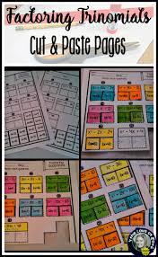 Online Algebra Tiles Factoring by 558 Best Secondary Math Images On Pinterest Classroom Ideas