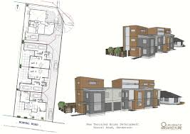 100 Terraced House Design Subdivision Auckland Terraced House Thomas Consultants