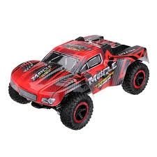 100 Short Course Rc Truck 116 Rc Car Truck Car 15kmh 24g 4wd Partial Waterproof Brushed