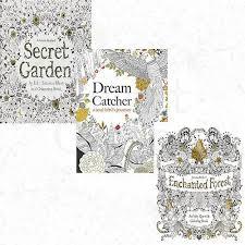 Children S Books Collection 3 Book Set Pack Dream Catcher Enchanted Forest Secret Garden