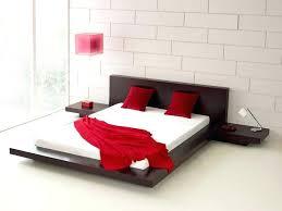 Wood Platform Bed Frame Queen by Black Wood Bed Frame Queen Full Size Of Bedroom Bed Frames Black