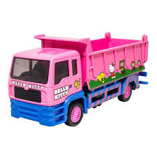 Sanrio Hello Kitty Die-Cast 15cm Dump Truck Pink Model Genuine ...