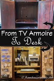 How To Convert A TV Armoire To A Desk Fniture Desk Top Hutch Office Armoire Hutches Large Computer All Home Ideas And Decor Best Modern Blackcrowus Beloved Image Of Cherry L White Chair Stunning Display Wood Grain In A Strategically Hoot Judkins Fnituresan Frciscosan Josebay Areasunny With Tall Target Also Black In Armoires Amazoncom Desks Shaped Ikea Laptop Hack Lovely Interior Exterior Homie Ideal