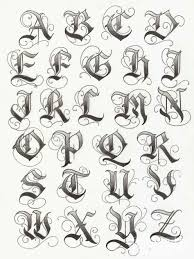 Danielhuscroftcom Letter Download Alphabet Tattoos For Men On Hand Tattoo Design
