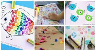 10 Awesome Art Projects For 3 4 Year Olds Intended And Craft Ideas Kids Under