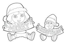 Dora Coloring Pages Free Games 8 Most Lovable Cartoon Character Kids Aim